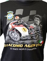 Ago 15 Times world Champion T-Shirt by Retro