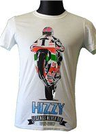 Steve Hislop 'Hizzy'  T-Shirt by TheVisorShop
