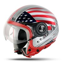 Nitro X548-AV USA Open Faced Helmet