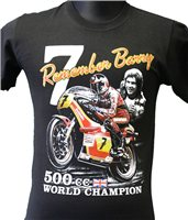 Retro Remembering Barry Sheene T-Shirt
