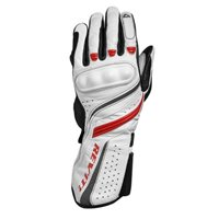 Revit Ladies Motorcycle Gloves Raven (White-Red)