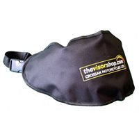 TheVisorShop Visor Holder Pouch Long Fit, ideal for longer visors