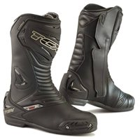 TCX S-SporTour Evo Waterproof Motorcycle Boots (Black)
