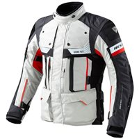 Revit Defender Pro GTX Gore-Tex Jacket (Grey/Red)