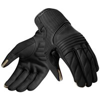 Revit Motorcycle Gloves Abbey Road (Black Leather Glove)