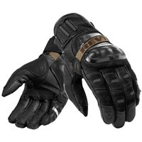 Cayenne Pro Leather Motorcycle Gloves (Black) by Revit