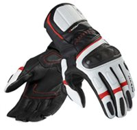 Revit Motorcycle Glove RSR 2 (Black-Red Leather Gloves)