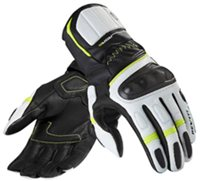 Revit Motorcycle Glove RSR 2 (Black-Neon Yellow Leather Gloves)