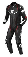 Revit One Piece Replica Motorcycle Leathers (Black-Red)