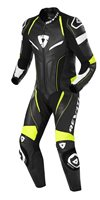 Revit One Piece Replica Motorcycle Leathers (Black-Neon Yellow)