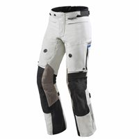 Revit Dominator 2 GTX Motorcycle Trousers (Light Grey-Black  Gore-Tex)
