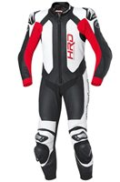 Held SLADE One Piece Motorcycle Leathers (Black/Red)