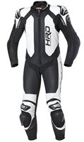 Held SLADE One Piece Motorcycle Leathers (Black/White)