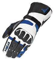 Held Evo-Thrux Motorcycle Gloves (Black/Blue)