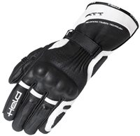 Held Troy Motorcycle Gloves (Black/White)