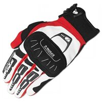 Held BackFlip Motocross Gloves (White/Red)