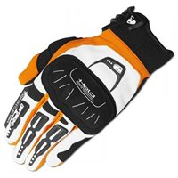 Held BackFlip Motocross Gloves (White/Orange)