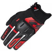 Held Hardtack Motocross Gloves (Black/Red)