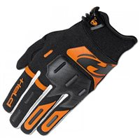 Held Hardtack Motocross Gloves (Black/Orange)