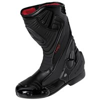 Held Epco Tex Waterproof Motorcycle Boots  (Black/White)