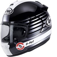 Arai Chaser-V Page Silver Motorcycle Helmet **Free Spare Visor**