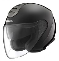 Schuberth M1 Berlin Black Open Faced Motorcycle Helmet