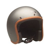 Hedon Hedonist ASH Open Faced Motorcycle Helmet