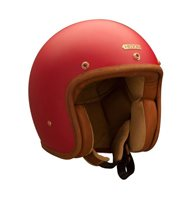 Hedon Hedonist CHERRY Motorcycle Helmet (Matt Red)
