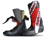 Daytona Security Evo 3 Standard Motorcycle Boots (Red)