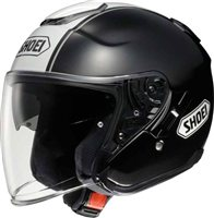 Shoei  J-Cruise CORSO TC-5 Open Faced Helmet (Black/white)
