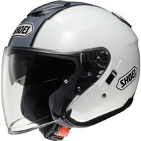 Shoei  J-Cruise CORSO TC-6 Open Faced Helmet (White/Grey)