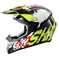 Shark SX2 FREAK Moto-x Helmet (Black/Green/White)
