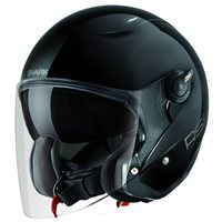 Shark RSJ Open Faced Helmet (Black)