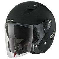 Shark RSJ Open Faced Helmet (Matt Black)