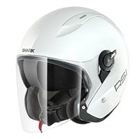 Shark RSJ Open Faced Helmet (White)