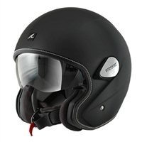 Shark Heritage Open Faced Helmet (Matt Black)