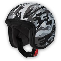 Caberg Freeride Commander Open Faced Helmet (Matt White/Grey)