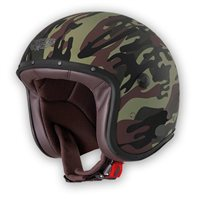 Caberg Freeride Commander Open Faced Helmet (Green Camo)