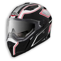 Caberg Stunt BLADE Helmet (White/Black/Red)