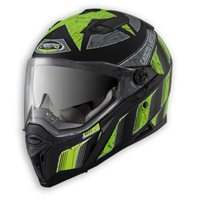 Caberg Stunt STEELZ Helmet (Matt Black/Fluo Yellow)