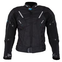 Spada Ladies CURVE Motorcycle Jacket (Black)