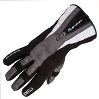 Spada CORE Waterproof Textile Motorcycle Gloves (Black/Grey)