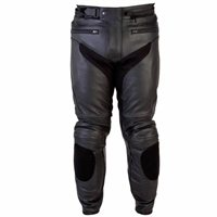 Spada Nero Leather Trousers