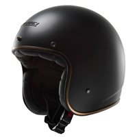 LS2 OF583 BOBBER Open Faced Helmet (Matt Black)