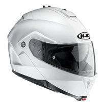 HJC IS-MAX II Flip Front Helmet (Gloss White)