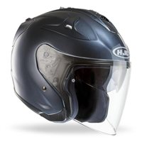 HJC FG-JET Open Faced Helmet (Anthracite)