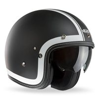 FG-70s HERITAGE Open Faced Helmet (Black) by HJC