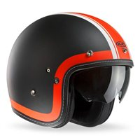 HJC FG-70s HERITAGE Open Faced Helmet (Orange)