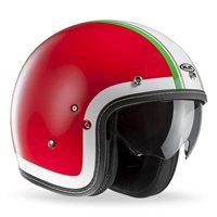 HJC FG-70s HERITAGE Open Faced Helmet (Red)