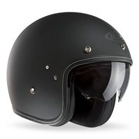 HJC FG-70s Plain Open Faced Helmet (Matt Black)